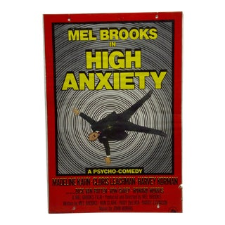 """Mel Brooks in """"High Anxiety"""" Movie Poster"""