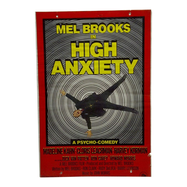 """Mel Brooks in """"High Anxiety"""" Movie Poster For Sale"""