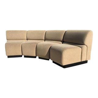 Vintage Jack Cartwright Modular Sofa - 4 Pieces For Sale