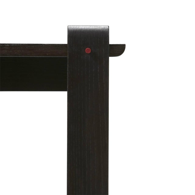 Contemporary 'Brindle' Ash Wood Console Table Handcrafted by Danny Rosa For Sale - Image 3 of 7
