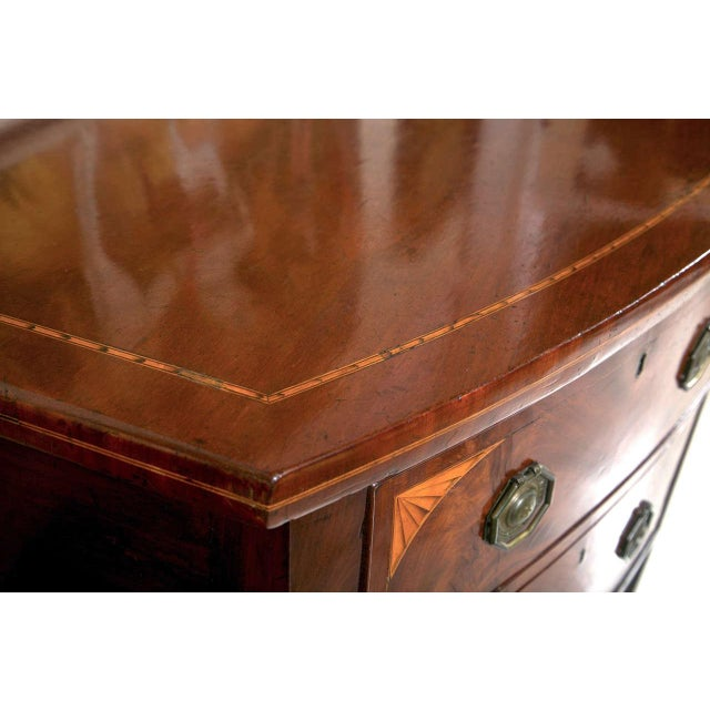 English Georgian Style Mahogany Sideboard - Image 7 of 9