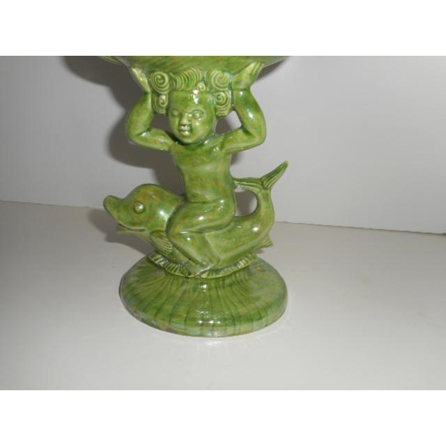 Porcelain Glazed Cupid Ring or Soap Dish - Image 3 of 6