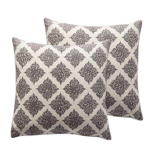 John Robshaw Armor Pillows - A Pair