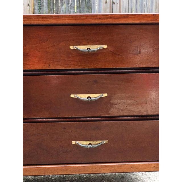 Danish Modern Basic-Witz Mid Century Modern Credenza Dresser For Sale - Image 3 of 10