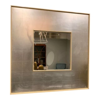 Barbara Barry for Henredon Silver Lining Mirror For Sale