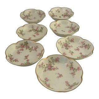 Haviland Limoges Small Plates - Set of 7