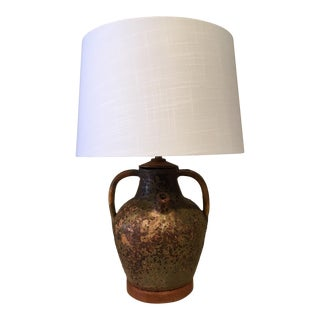 Mid-Century Modern Ceramic Jug Lamp For Sale