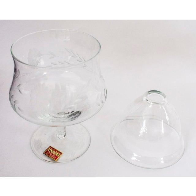 Avitra Handmade Crystal Shrimp Cocktail Glasses & Inserts - Set of 12 - Image 4 of 6