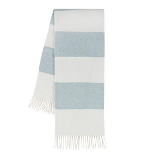 Glacier Rugby Stripe Throw For Sale
