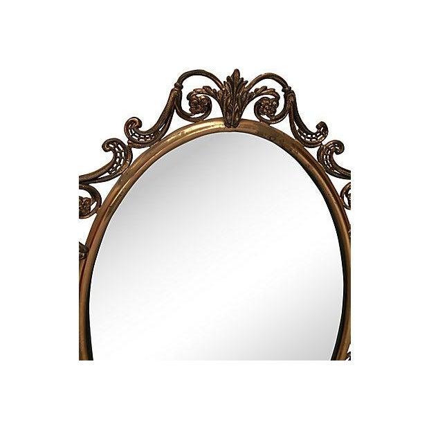 Brass Convex Mirror - Image 4 of 8