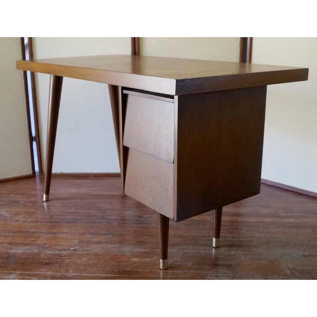 Barzilay Mid-Century California Modern Desk - Image 9 of 11