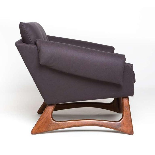 Mid-Century Modern 1960's Vintage Adrian Pearsall Lounge Chair For Sale - Image 3 of 6