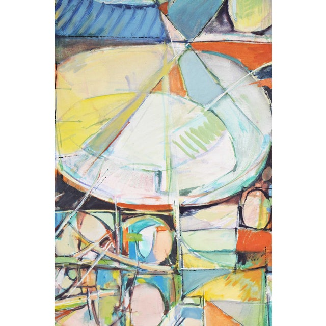 American School Mid-Century Oil Painting on Canvas For Sale In Dallas - Image 6 of 11