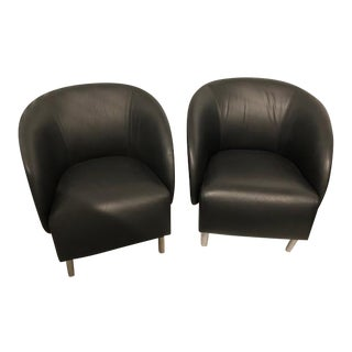 Keilhauer Croft Barrel Chairs- a Pair For Sale