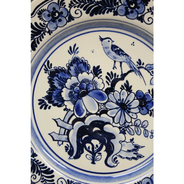 Traditional Vintage Delft Plates - Set of 4 For Sale - Image 3 of 5