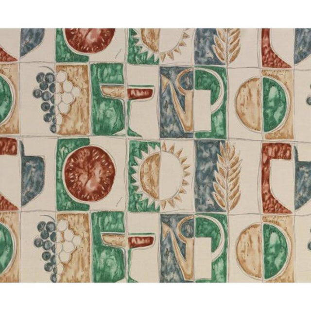 Designed by Gio Ponti. Available in cotton or linen. Available in small or large design