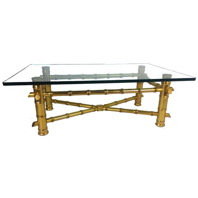 Gold Bamboo Coffee Table Best Home Design 2018