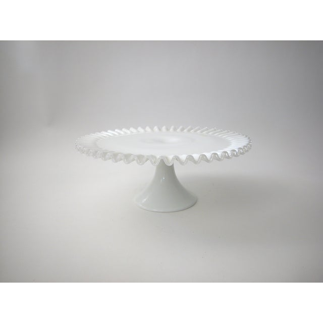 Fenton Silver Crest Cake Stand - Image 3 of 7
