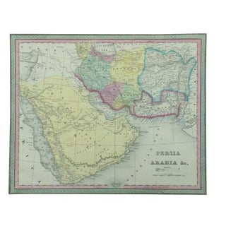 Persia & Arabia Map by Cowperthwait, 1850 For Sale