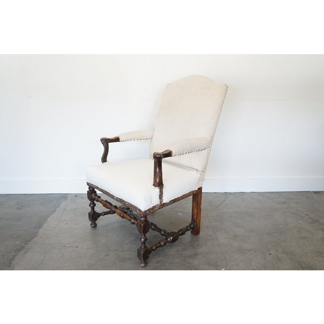 Mid 18th Century Antique Arm Chair For Sale - Image 5 of 10