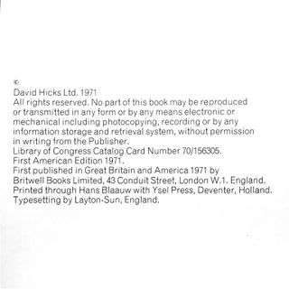 """""""David Hicks on Decoration, With Fabrics"""" First Edition Design Book Preview"""