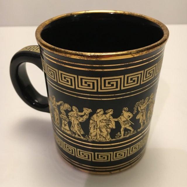 Neofitou 24k Gold Greek Key Mugs - Set of 4 - Image 9 of 9