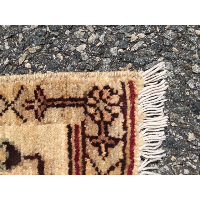 Sultanabad Persian Rug - 1′4″ × 1′11″ - Image 9 of 10