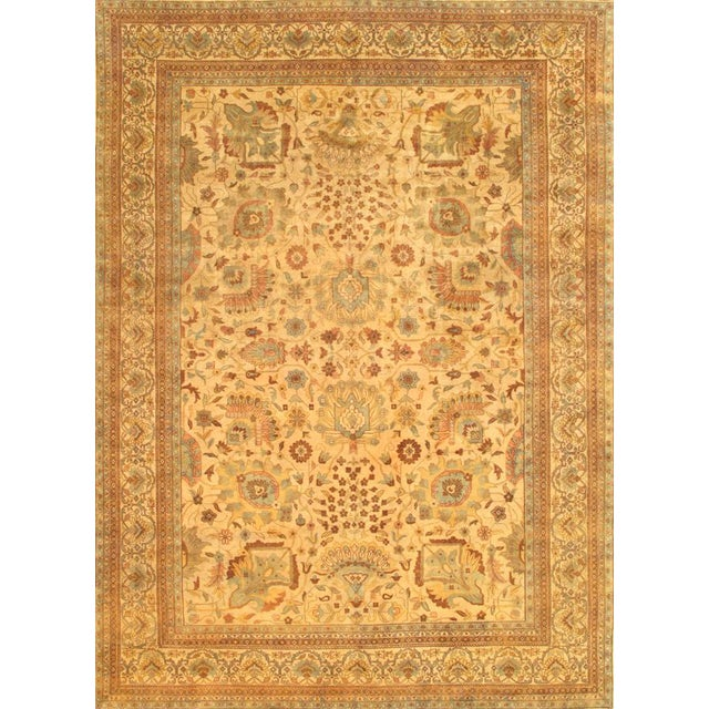 """Pasargad Sultanabad Wool Area Rug - 9' 0"""" X 11' 9"""" For Sale"""