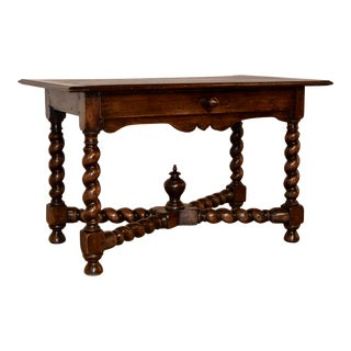 Early 19th Century French Library Table For Sale