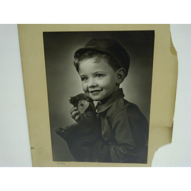 C. 1930 Black & White Photograph Ricky by Vincent Evans For Sale - Image 4 of 6