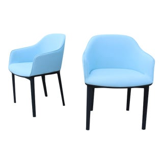 Modern Ronan and Erwan Bouroullec for Vitra Softshell Chairs - a Pair For Sale