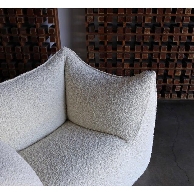 """B&B Italia Mario Bellini """" Le Bambole """" Lounge Chairs for B&b Italia, Circa 1985 - a Pair For Sale - Image 4 of 13"""
