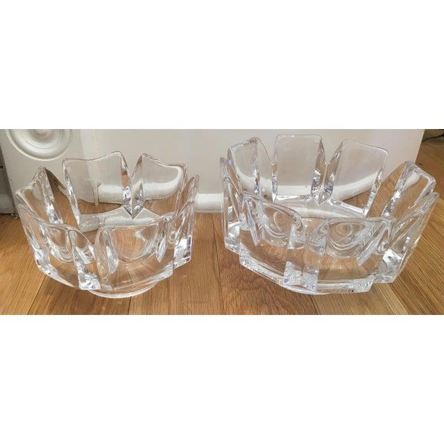 "Orrefors ""Corona"" Crystal Bowls - A Pair - Image 8 of 10"