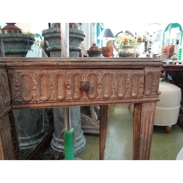 French 1920's French Louis XVI Style Neoclassical Console Table For Sale - Image 3 of 8