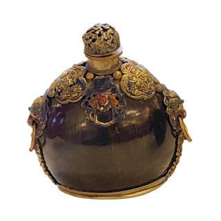 19th Century Moroccan Snuff Bottle For Sale