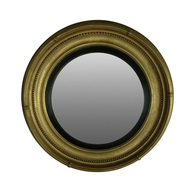 Regency Style Giltwood Convex Mirror - Image 2 of 8