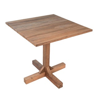 Outdoor Square Teak Bistro Table For Sale