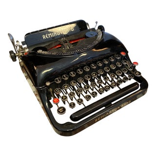 Vintage Remington Rand Typewriter - Remington 5 Typewriter - 1930's For Sale