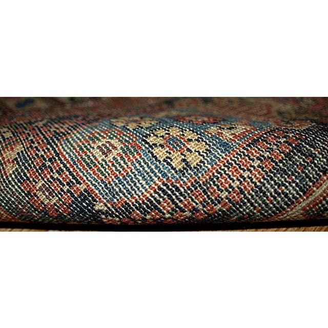 Fine hand made antique Persian Farahan rug. Sea green colors and detailed garden design remind us about magnificent 19th...