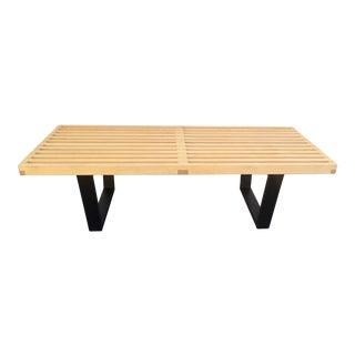 George Nelson Style Platform Bench