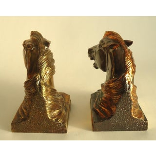 "1940s Dodge ""Angry Stallions"" Bookends by Gladys Brown Edwards - a Pair Preview"
