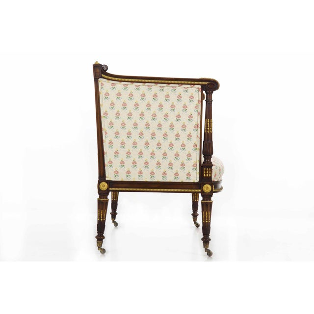 French French Louis XVI Style Antique Canapé Sofa Settee Circa Late 19th Century For Sale - Image 3 of 13