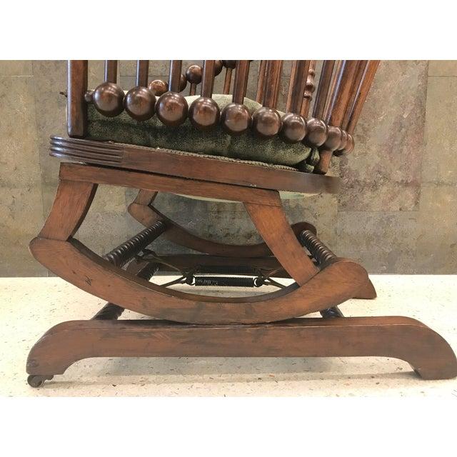 Hunzinger Lollipop Platform Rocking Chair For Sale In New York - Image 6 of 8