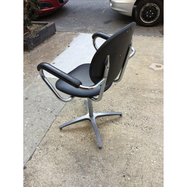 1960's Modern Chrome Desk Chair - Image 4 of 8