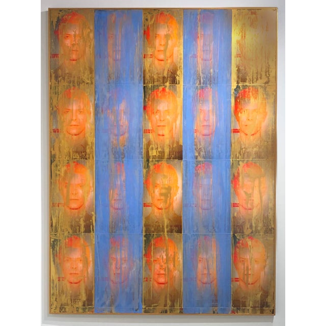 """Mixed-Media """"Golden Years"""" Mixed Media Painting by Dan J Leahy For Sale - Image 7 of 7"""