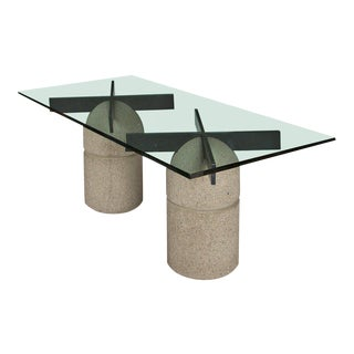 """Paracarro"" Table by Giovanni Offredi for Saporiti"