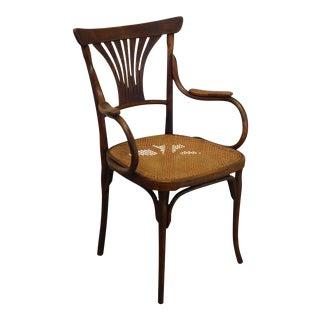 Jakob and Josef Kohn Austria Antique Art Nouveau Armchair For Sale