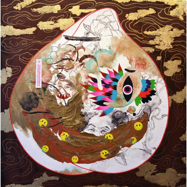 Contemporary Jiha Moon, Magic Peach, 2014 For Sale - Image 3 of 3