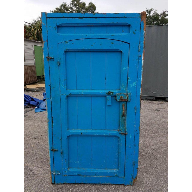 Antique Moroccan Mia Two-Tone Door For Sale - Image 4 of 9