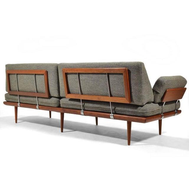 Teak Peter Hvidt & Orla Mølgaard-Nielsen Oversize Minerva Sofa by France & Son For Sale - Image 7 of 11